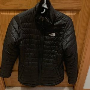 Black The North Face Winter Jacket